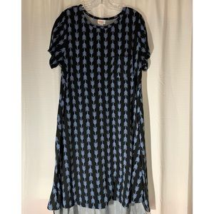 Lularoe Carly Black and Blue